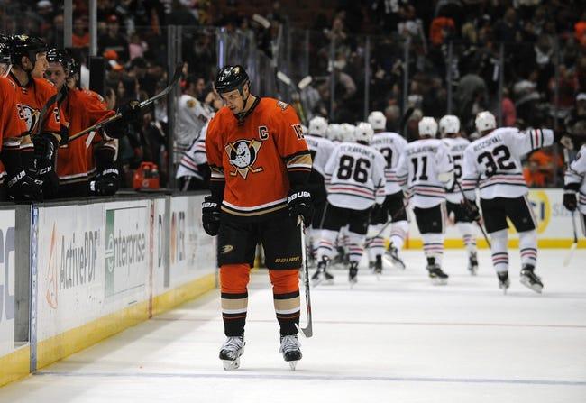 Chicago Blackhawks vs. Anaheim Ducks - 2/13/16 NHL Pick, Odds, and Prediction