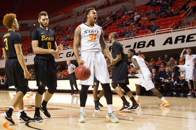 Oklahoma State Cowboys vs. Longwood Lancers - 12/15/15 College Basketball Pick, Odds, and Prediction