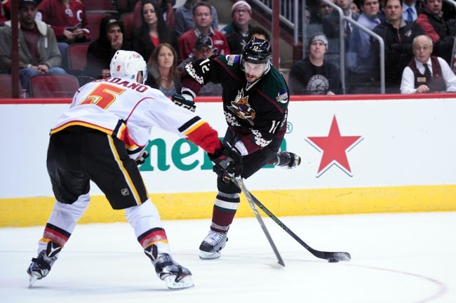 Calgary Flames vs. Arizona Coyotes - 1/7/16 NHL Pick, Odds, and Prediction