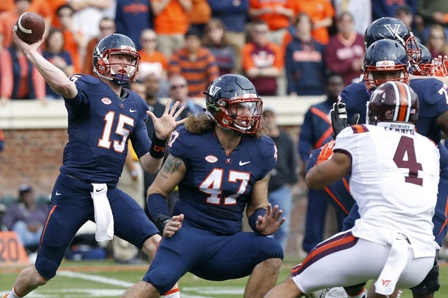 Virginia Cavaliers 2016 College Football Preview, Schedule, Prediction, Depth Chart, Outlook