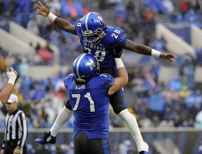 Memphis vs. Kansas - 9/17/16 College Football Pick, Odds, and Prediction