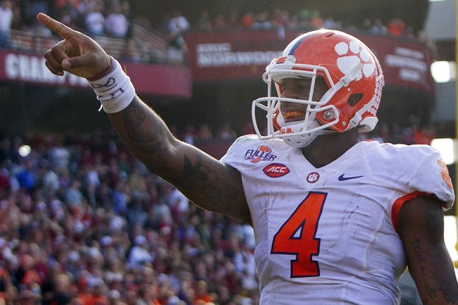Clemson vs. North Carolina - 12/5/15 College Football Pick, Odds, and Prediction