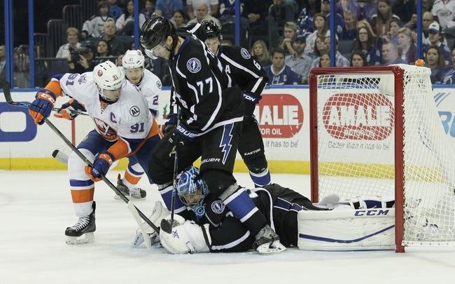 Tampa Bay Lightning vs. New York Islanders - 3/25/16 NHL Pick, Odds, and Prediction