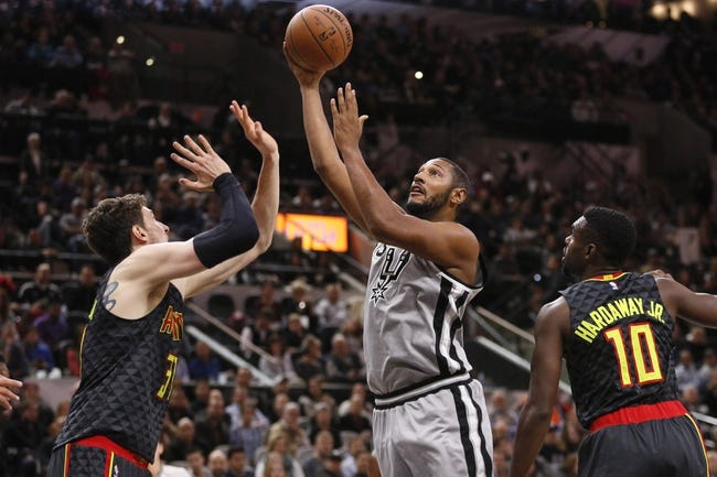 Atlanta Hawks vs. San Antonio Spurs - 12/12/15 NBA Pick, Odds, and Prediction