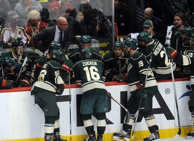 Minnesota Wild vs. Dallas Stars - 12/21/15 NHL Pick, Odds, and Prediction