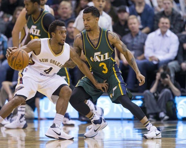 Utah Jazz vs. New Orleans Pelicans - 12/16/15 NBA Pick, Odds, and Prediction