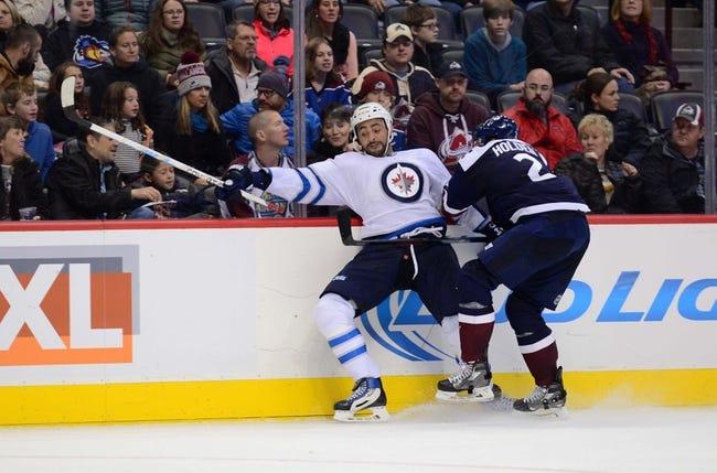 Winnipeg Jets vs. Colorado Avalanche - 1/18/16 NHL Pick, Odds, and Prediction