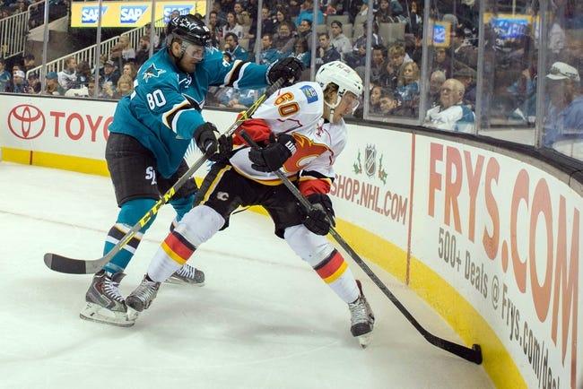 Calgary Flames vs. San Jose Sharks - 12/8/15 NHL Pick, Odds, and Prediction