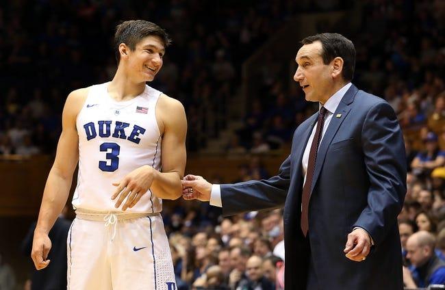 Duke vs. Indiana - 12/2/15 College Basketball Pick, Odds, and Prediction
