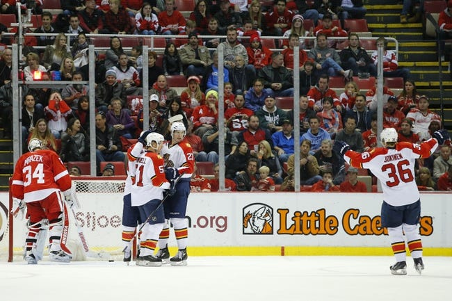 Panthers vs. Red Wings - 2/4/16 NHL Pick, Odds, and Prediction