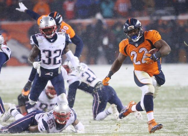 Denver Broncos vs. New England Patriots  NFL AFC Championship - 1/24/16 NFL Pick, Odds, and Prediction