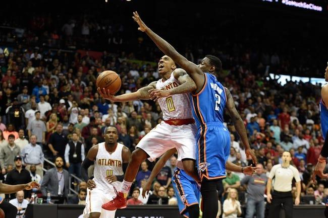 Thunder vs. Hawks - 12/10/15 NBA Pick, Odds, and Prediction