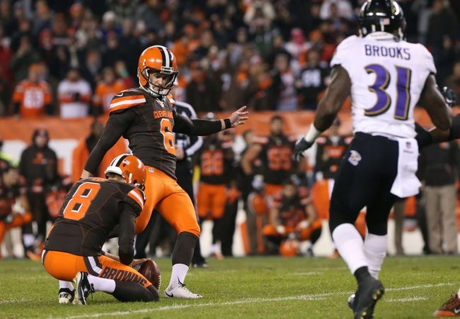 Baltimore Ravens at Cleveland Browns- 9/18/16 NFL Pick, Odds, and Prediction
