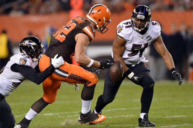 Baltimore Ravens at Cleveland Browns 11/30/15 NFL Score, Recap, News and Notes