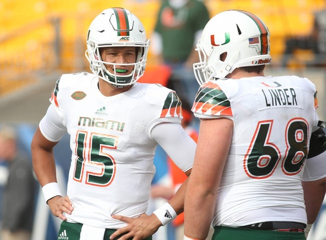 Miami vs. Florida A&M - 9/3/16 College Football Pick, Odds, and Prediction