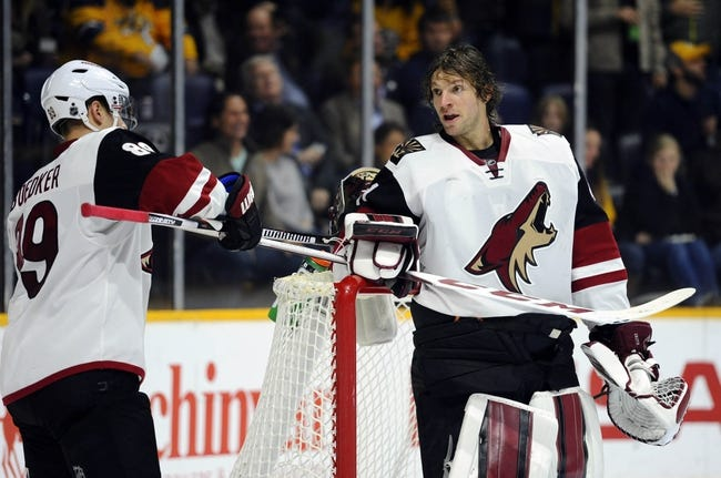 Buffalo Sabres vs. Arizona Coyotes - 12/4/15 NHL Pick, Odds, and Prediction