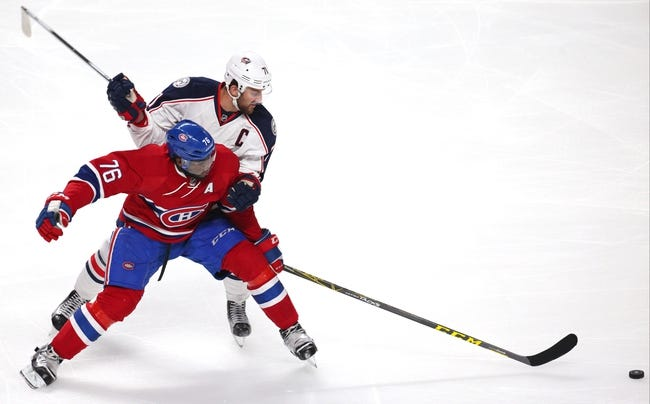 Blue Jackets vs. Canadiens - 1/25/16 NHL Pick, Odds, and Prediction