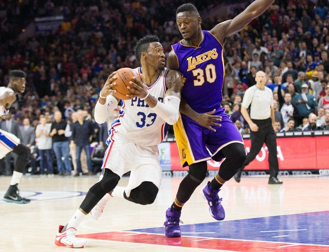 Los Angeles Lakers vs. Philadelphia 76ers - 1/1/16 NBA Pick, Odds, and Prediction