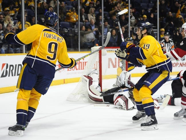 Nashville Predators vs. Arizona Coyotes - 4/7/16 NHL Pick, Odds, and Prediction
