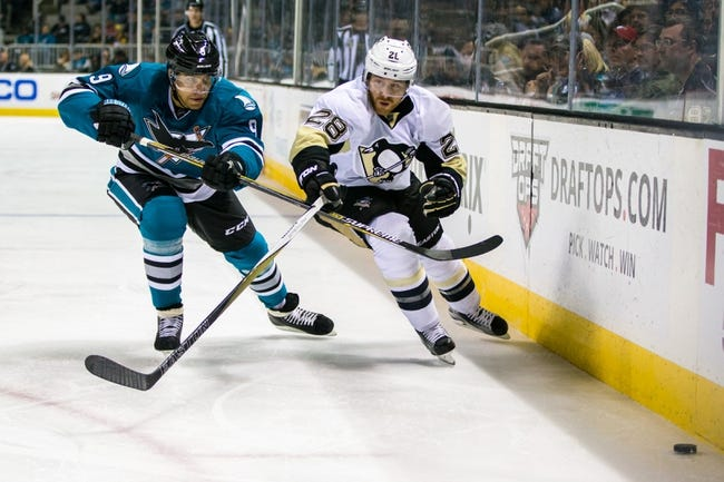 Pittsburgh Penguins vs. San Jose Sharks Stanley Cup Game One - 5/30/16 NHL Pick, Odds, and Prediction