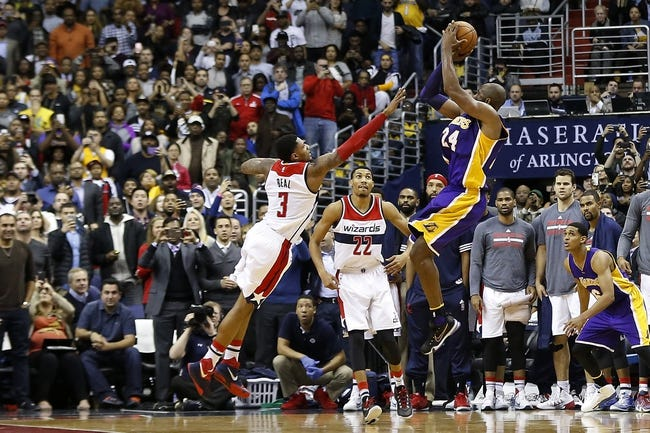Los Angeles Lakers vs. Washington Wizards - 3/27/16 NBA Pick, Odds, and Prediction