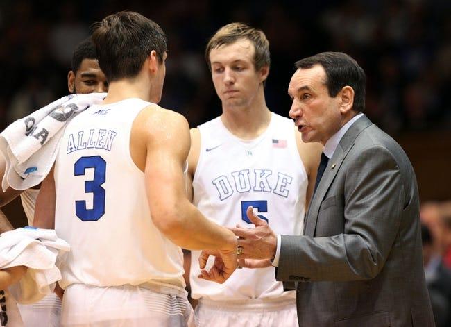 Duke vs. Utah - 12/19/15 College Basketball Pick, Odds, and Prediction