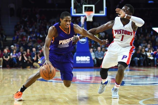 Phoenix Suns vs. Detroit Pistons - 11/9/16 NBA Pick, Odds, and Prediction