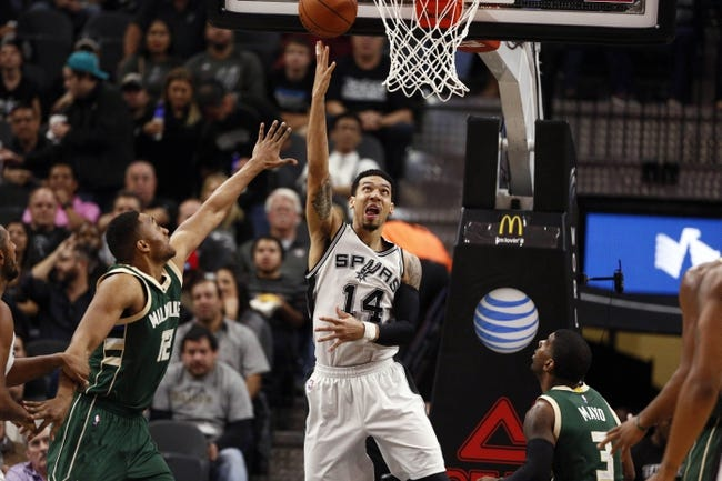 Bucks vs. Spurs - 1/4/16 NBA Pick, Odds, and Prediction
