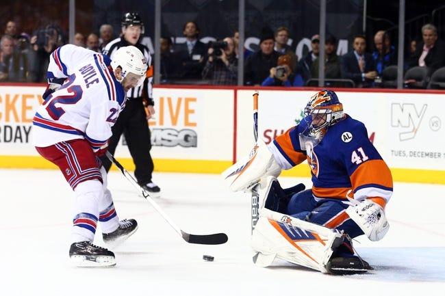 Islanders vs. Rangers - 1/14/16 NHL Pick, Odds, and Prediction