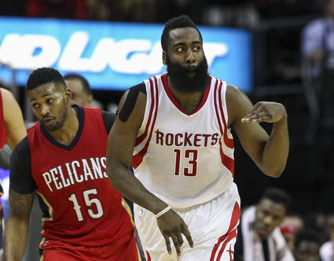 Rockets at Pelicans - 12/26/15 NBA Pick, Odds, and Prediction