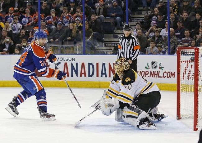 Boston Bruins vs. Edmonton Oilers - 12/14/15 NHL Pick, Odds, and Prediction