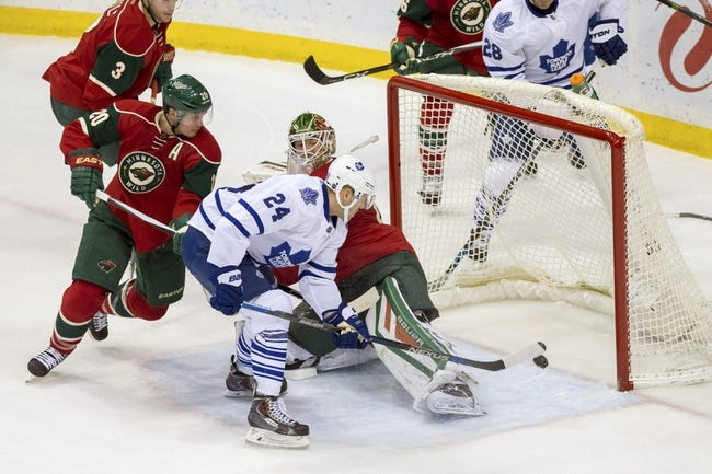 Toronto Maple Leafs vs. Minnesota Wild - 3/3/16 NHL Pick, Odds, and Prediction