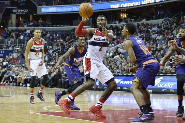 Suns vs. Wizards - 4/1/16 NBA Pick, Odds, and Prediction