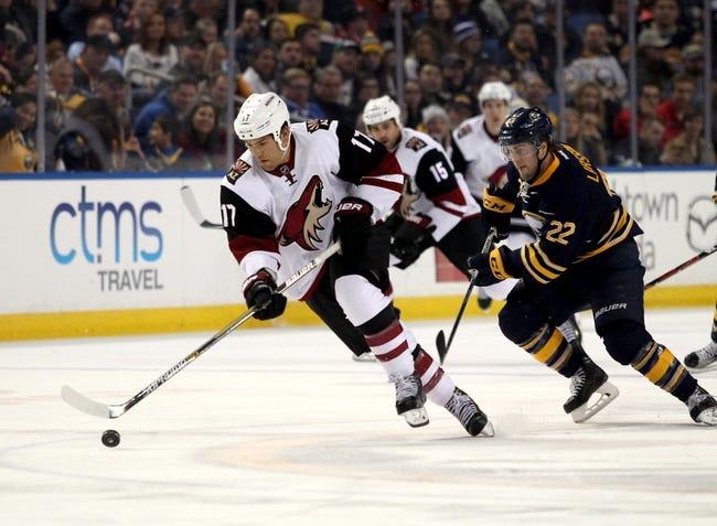 Coyotes vs. Sabres - 1/18/16 NHL Pick, Odds, and Prediction