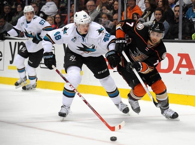 Anaheim Ducks vs. San Jose Sharks - 2/2/16 NHL Pick, Odds, and Prediction