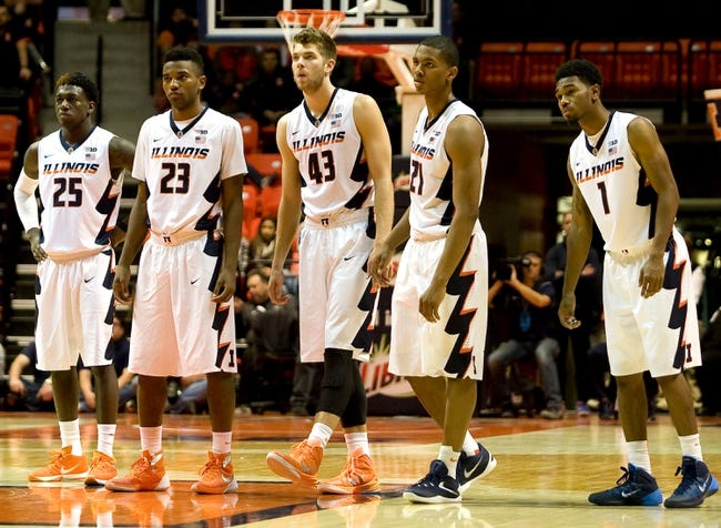 Illinois vs. Nebraska - 1/16/16 College Basketball Pick, Odds, and Prediction