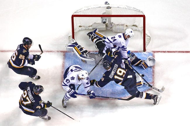 Toronto Maple Leafs vs. St. Louis Blues - 1/2/16 NHL Pick, Odds, and Prediction