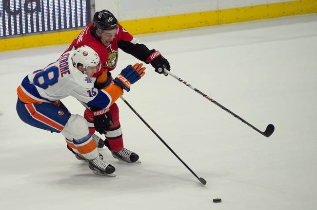 Ottawa Senators vs. New York Islanders - 1/22/16 NHL Pick, Odds, and Prediction