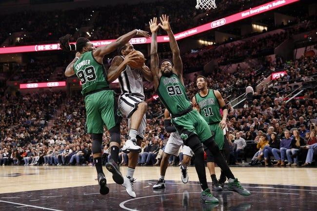 Boston Celtics vs. San Antonio Spurs - 11/25/16 NBA Pick, Odds, and Prediction