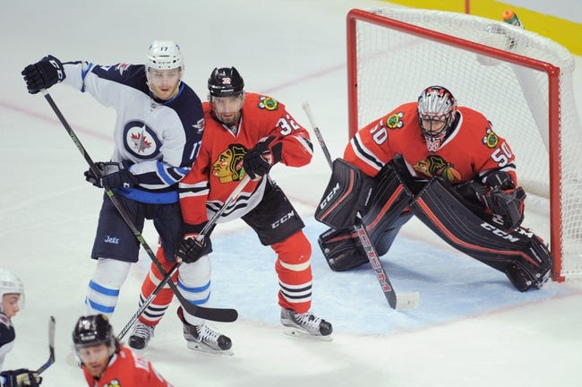 Chicago Blackhawks vs. Winnipeg Jets - 12/11/15 NHL Pick, Odds, and Prediction