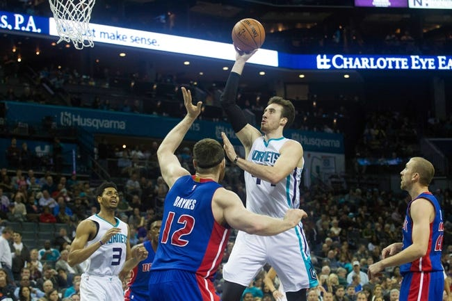 Hornets vs. Pistons - 3/11/16 NBA Pick, Odds, and Prediction