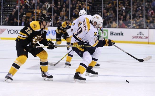 Nashville Predators vs. Boston Bruins - 2/18/16 NHL Pick, Odds, and Prediction