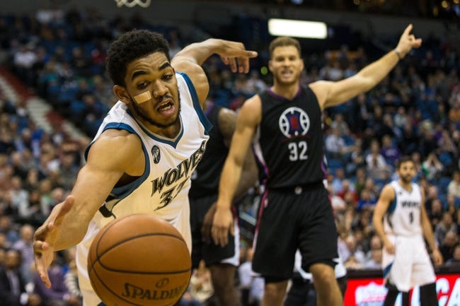 Clippers vs. Timberwolves - 2/3/16 NBA Pick, Odds, and Prediction