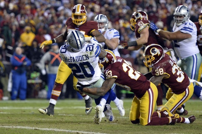 Dallas Cowboys vs. Washington Redskins - 1/3/16 NFL Pick, Odds, and Prediction