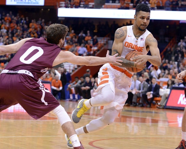 St. John's vs. Syracuse - 12/13/15 College Basketball Pick, Odds, and Prediction