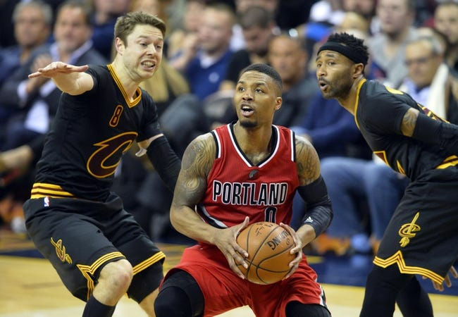 Cavaliers at Trail Blazers - 12/26/15 NBA Pick, Odds, and Prediction