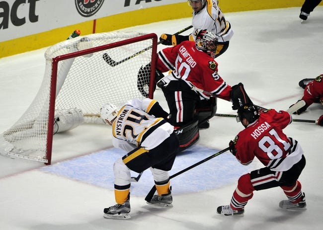 Nashville Predators vs. Chicago Blackhawks - 12/10/15 NHL Pick, Odds, and Prediction