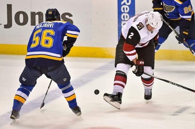 Coyotes vs. Blues - 2/20/16 NHL Pick, Odds, and Prediction