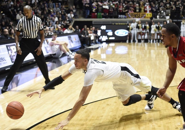 Purdue Boilermakers vs. Youngstown State Penguins - 12/12/15 College Basketball Pick, Odds, and Prediction