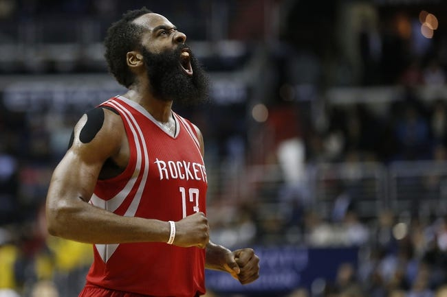 Rockets vs. Wizards - 1/30/16 NBA Pick, Odds, and Prediction
